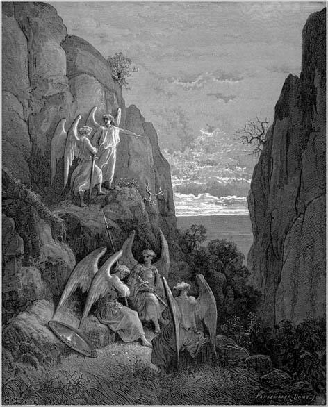 Потерянный рай. Возвращенный рай. Джон Мильтон, с гравюрами Доре